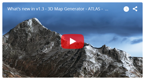 3D Map Generator - Atlas - From Heightmap to real 3D map - 9