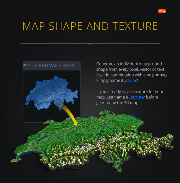 3D Map Generator - Terrain from Heightmap - 3