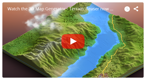 - video - 3D Map Generator – Terrain from Heightmap