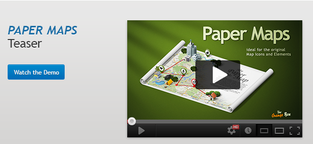 Paper Maps – The stage for your 3D Maps and Icons - 1