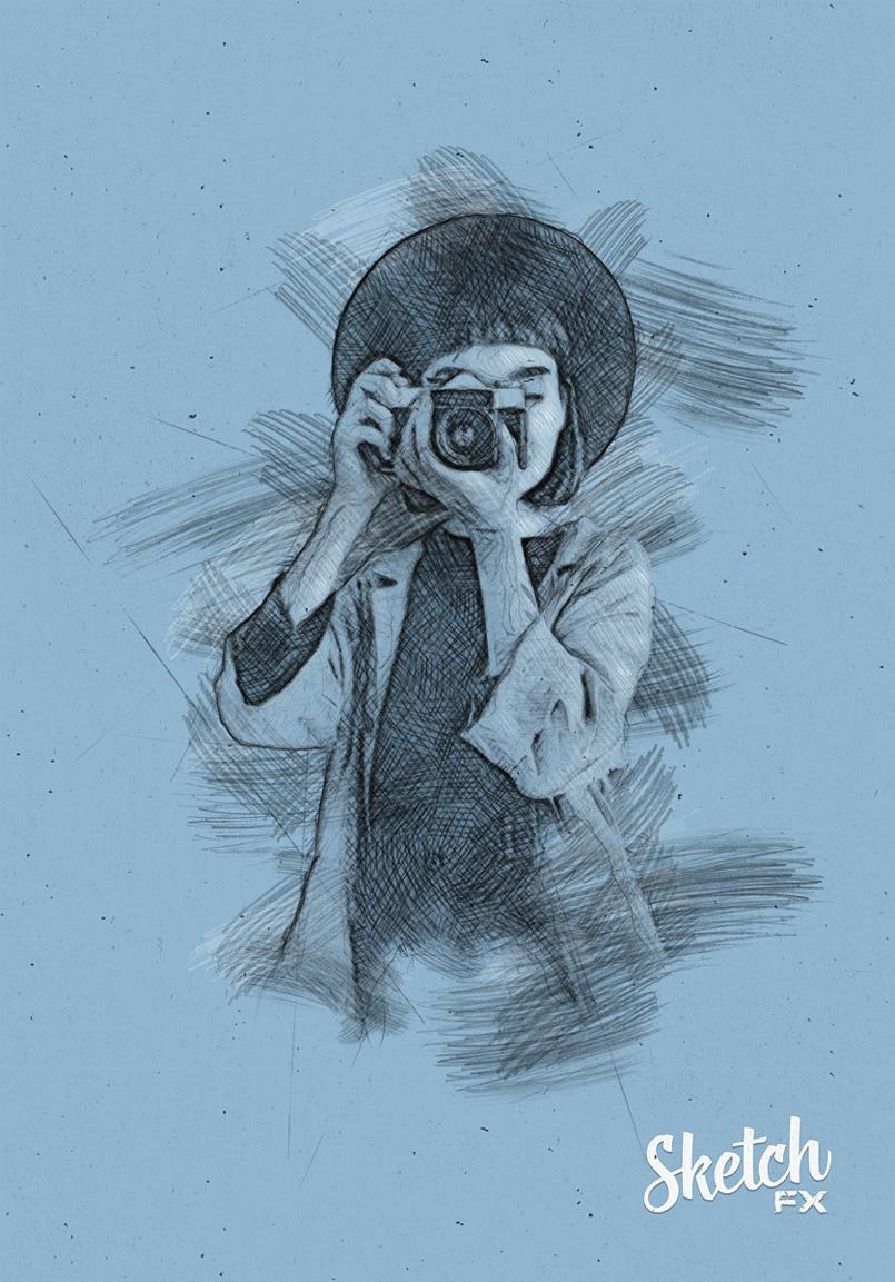 The Orange Box Com Sketch Fx Photo Effect