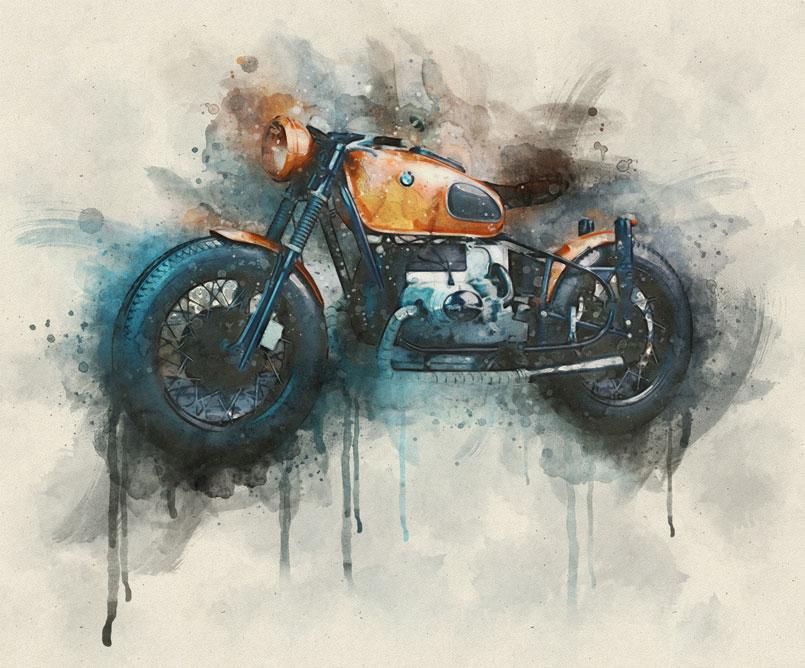 the-orange-box com | Watercolor FX – Photo effect