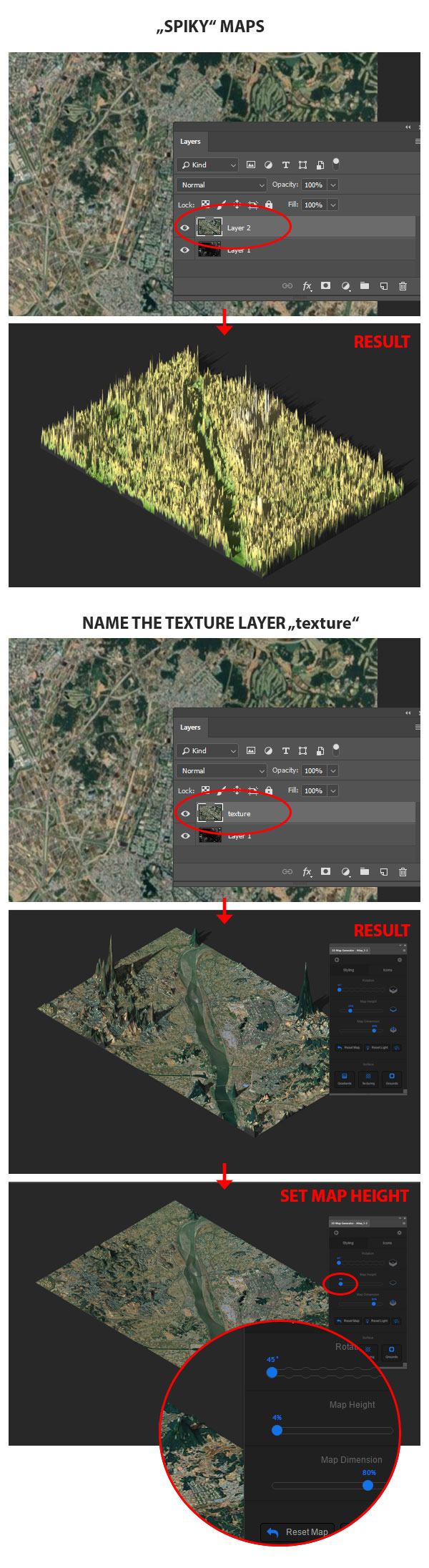 Support for 3D Map Generator - Atlas - From Heightmap to real 3D map